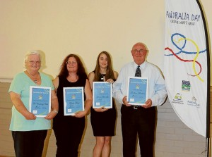 Sorell Australia Day Award Winners